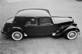 Citroën Avant Traction von oben