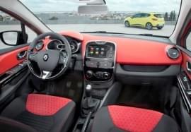 Renault Clio belső kinézet