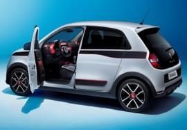 Renault Twingo nyitott ajtóval