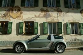 Smart Roadster Seitenansicht
