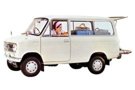 Suzuki Carry Van oldalnézet
