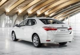 Toyota Corolla hátulnézet