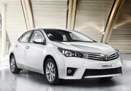 Toyota Corolla elölnézet