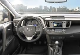 Toyota RAV4 belülről